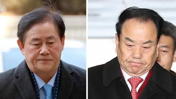 자유한국당 최경환·이우현 나란히 구속…文 정부 첫 현역의원 구속