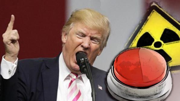 """美 언론, 트럼프 '핵 버튼 트윗' 비판…""""유치한 힘자랑"""""""