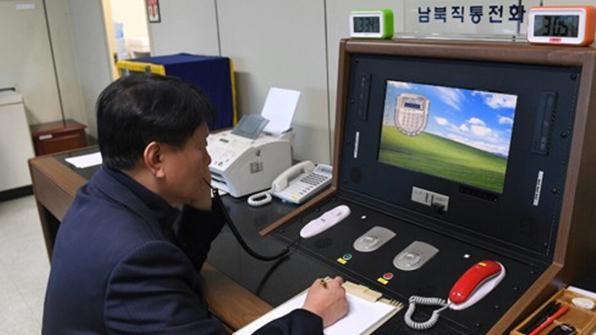 """남북 판문점 연락채널 이틀째 개시통화…""""회담 언급은 없어"""""""