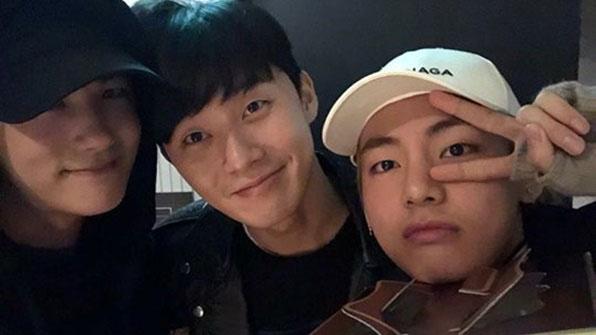 [K스타] 박서준-박형식이 만난 '세계 1위 미남'은 누구?
