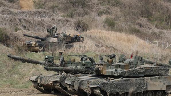 美 조지아주 탱크여단, 한반도 순환배치