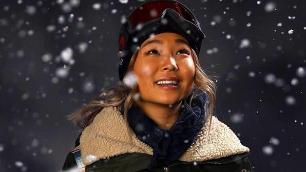 클로이 김, 스노보드 월드컵 여자 하프파이프서 준우승