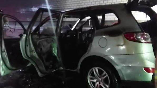 인천 북항터널 차량 화재