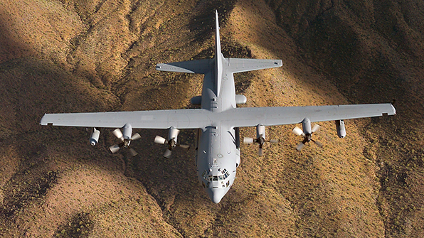美, 한국에 '첨단' EC-130H 전자전기 이동 배치