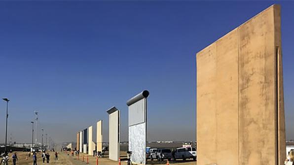 """멕시코 """"어떤 상황에서도 국경장벽 비용 내지 않을 것"""""""