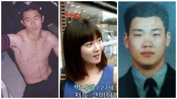 [K스타] 기안84, '탄탄 복근' 자랑…★들의 사뭇 다른 리즈 시절