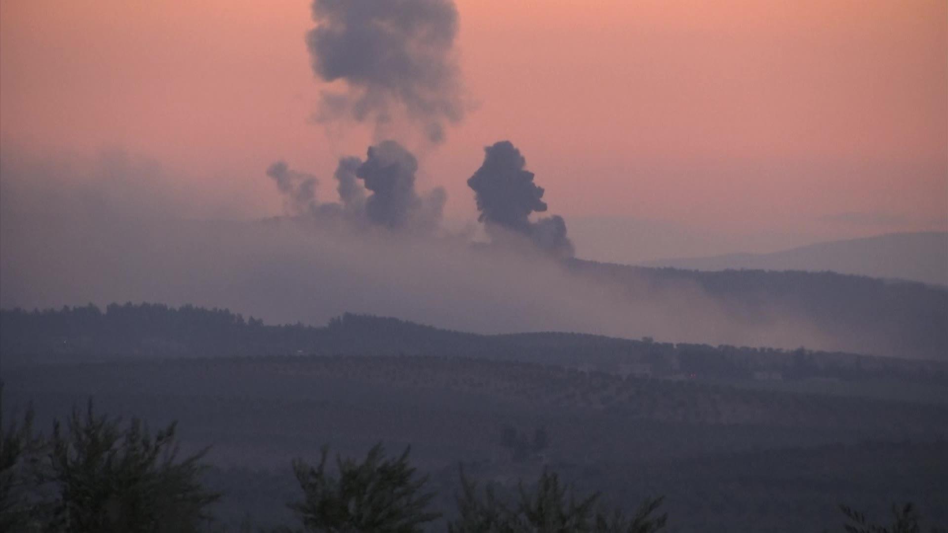 """반격받은 터키 '올리브 가지 작전'…""""터키도시,미사일 공격받아"""""""