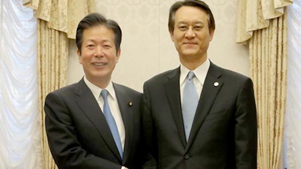 """日 공명당 대표 """"북한 평창올림픽 참가는 평화정신에 부합"""""""
