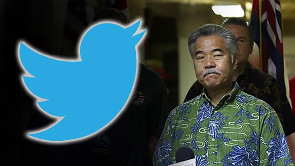 황당한 하와이 지사…트위터 비번몰라 미사일 오경보 정정못해