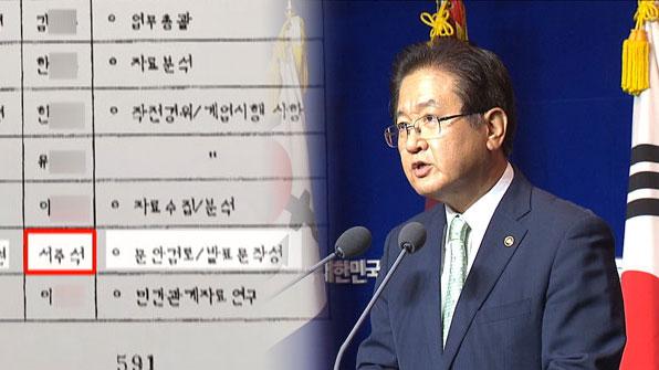 [단독] 서주석 국방차관 참여 '軍 비밀조직' 5·18 어떻게 '왜곡'했나?