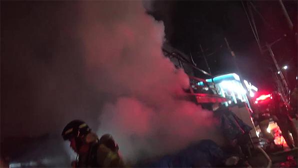 서울 강동구 화훼 비닐하우스 불…천만 원 재산피해