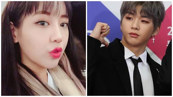 """[K스타] 강다니엘, 육지담과 열애?…""""과거 친분, 루머 강경 대응"""""""