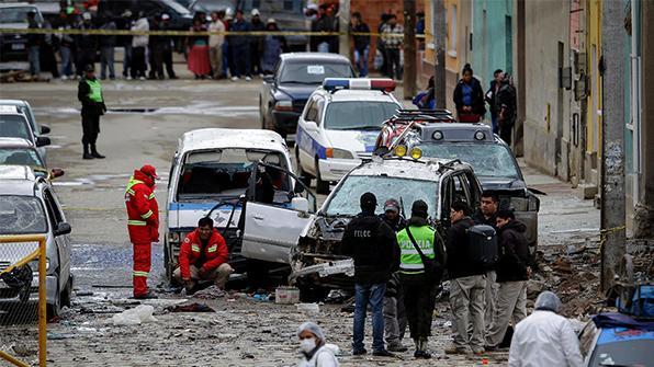 볼리비아 축제서 또 폭발…4명 사망·10명 부상