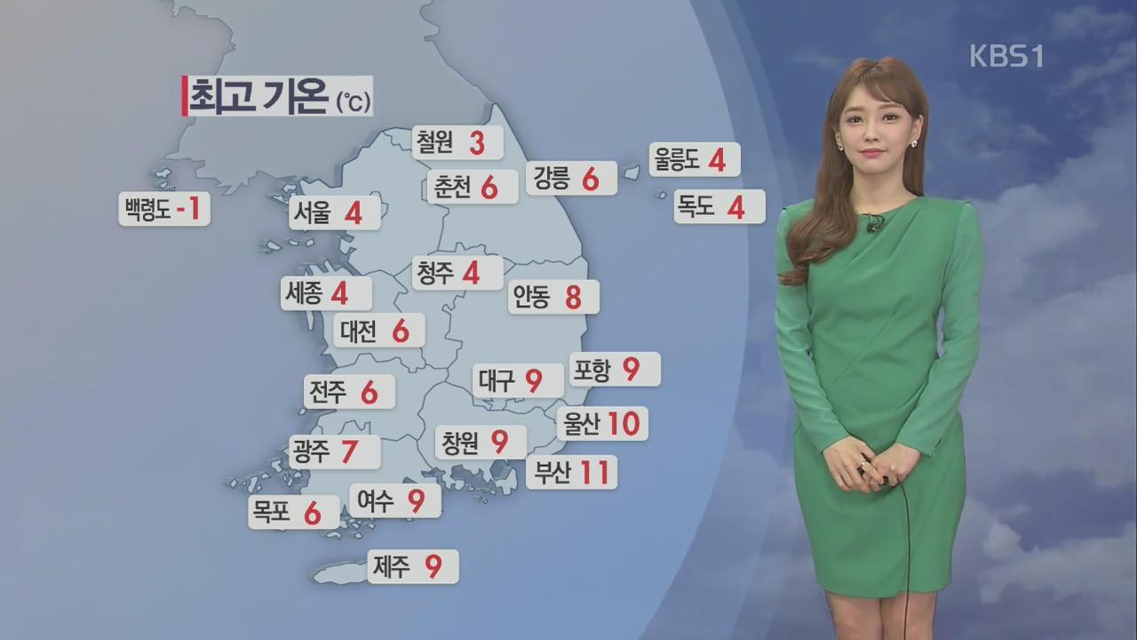 남부 오전 미세먼지 '나쁨'…설연휴 무난한 날씨