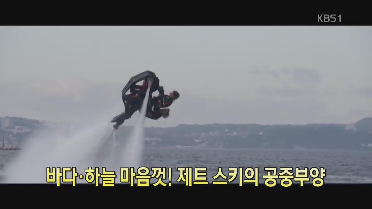 [디지털 광장] 바다·하늘 마음껏! 제트 스키의 공중부양
