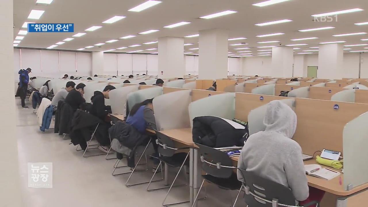 설 연휴·올림픽 잊은 대학가 취업 열기