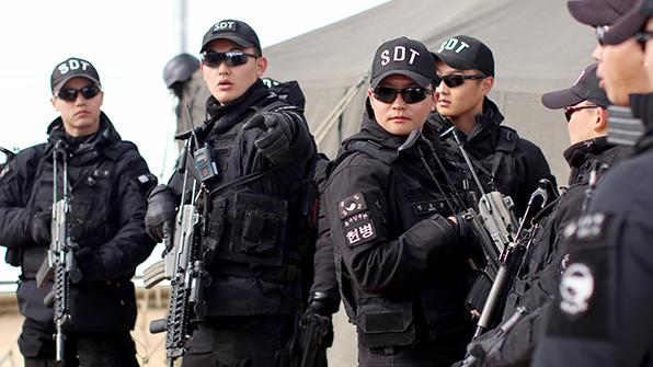 공군, 평창동계올림픽 대테러팀 등 280여 명 지원