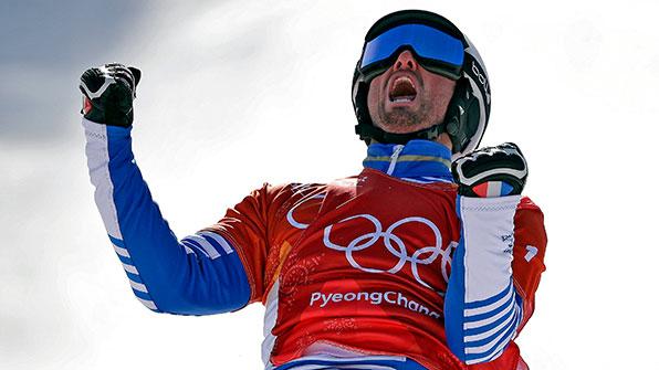 프랑스 볼티어, 스노보드 크로스 금메달