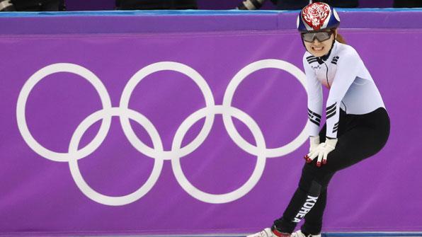 최민정, 쇼트트랙 女 1500m 금메달…서이라 男 1000m 동메달
