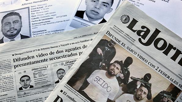 납치된 멕시코 마약갱단 특별수사 요원 2명 숨진 채 발견