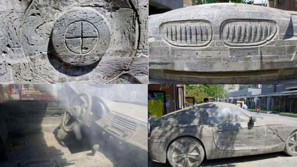 [고봉순] B사 자동차를 돌로 똑같이 조각했더니…