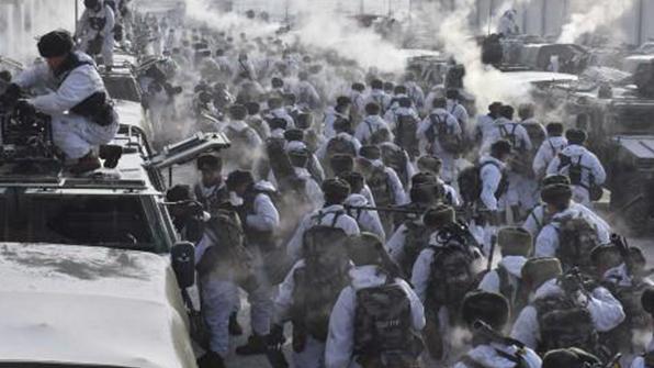 중국인민해방군, 춘제 기간 北中 접경 전쟁대비 군사훈련