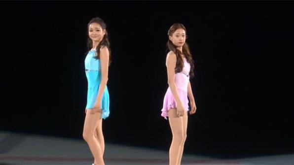 [영상] 유영과 임은수 갈라쇼 '베이징 기대하세요'