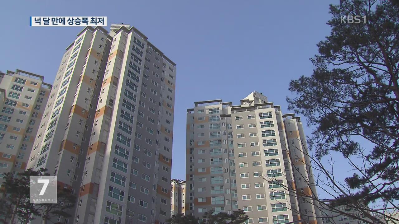 정부 규제에 서울 아파트값 상승폭 둔화…분양권 거래도 급감