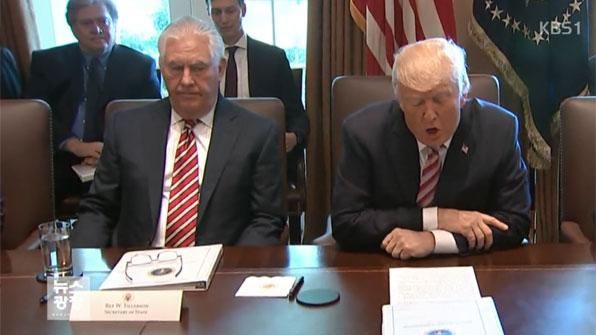 트럼프, 틸러슨 국무 전격 경질…후임에 폼페이오 CIA 국장