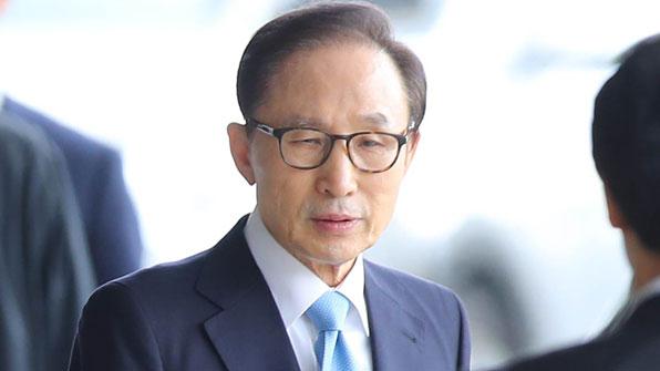 """[전문] 이명박 前 대통령 입장 발표 """"심려끼쳐 대단히 죄송"""""""