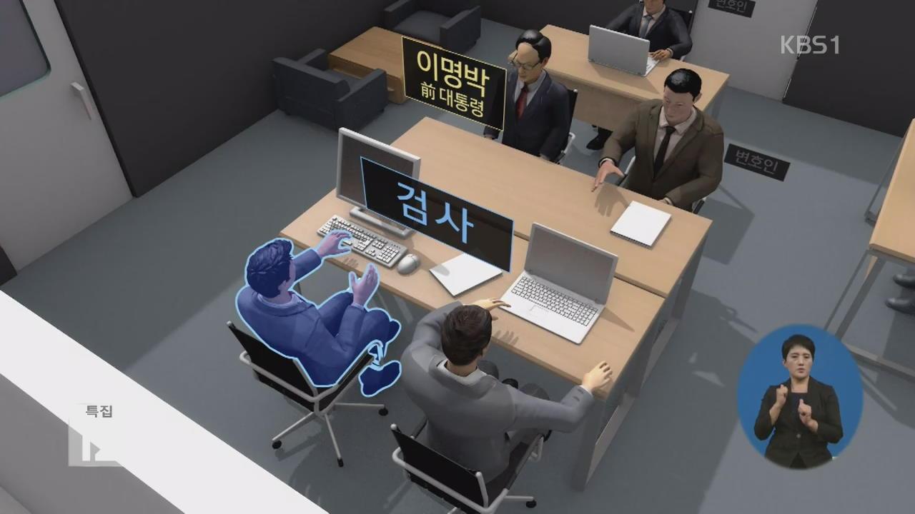MB 조사, 박근혜 '닮은꼴'…조사실도 1001호
