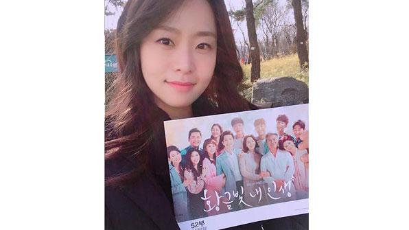 """'황금빛' 노수산나 """"화기애애했던 촬영장, 즐거운 기억"""""""