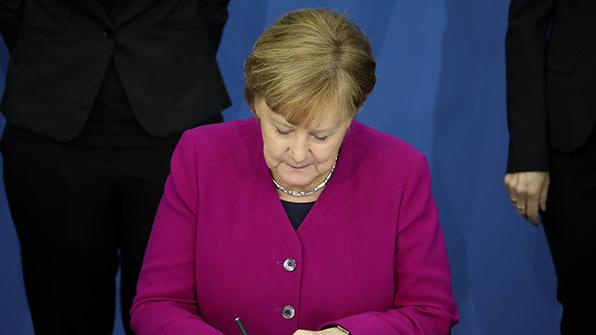 메르켈, 독일 총리로 재선출…4번째 임기 시작