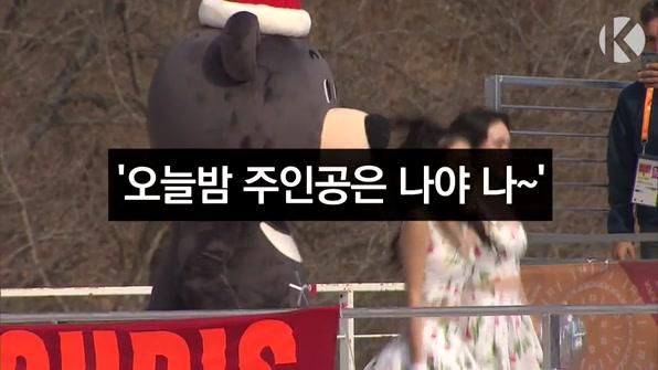 [라인뉴스] 패럴림픽 마스코트 반다비, '오늘밤 주인공은 나야 나~'