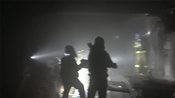 경북 상주 과수 포장지 공장 화재…2억3천만원 피해