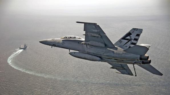 미 해군 전투기 '슈퍼호넷', 플로리다 앞바다서 추락