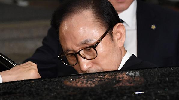 """평화당 """"MB, 검찰에서 '모른다'만 반복…구속수사해야"""""""