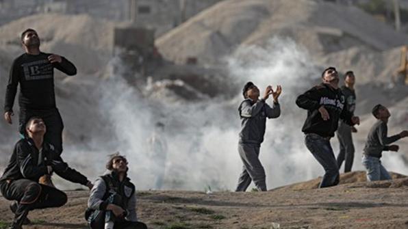 """이스라엘, 하마스 공습…""""국경 공격에 대한 보복"""""""