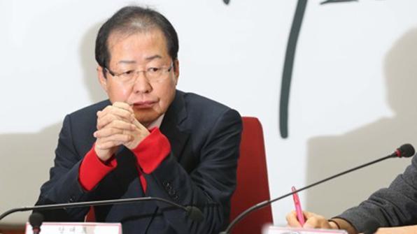 """홍준표 """"23년 간 험지에서 정치…음해에 분노"""""""