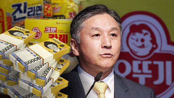 '착한 기업' 오뚜기 회장 일가, '일감 몰아주기' 회사 팔아 500억 벌었다