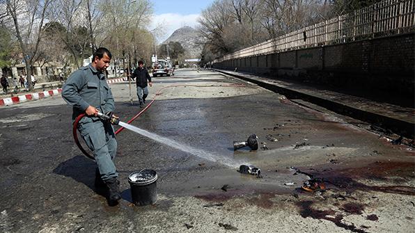 아프칸 카불 'IS 테러' 사망자 33명으로 늘어