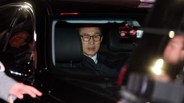 [뉴스광장 LIVE] 이명박 전 대통령 구속…동부구치소 수감