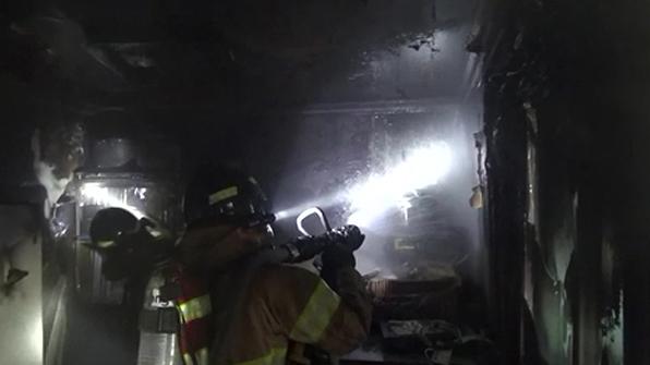 경북 문경 사찰서 화재…인명피해 없어