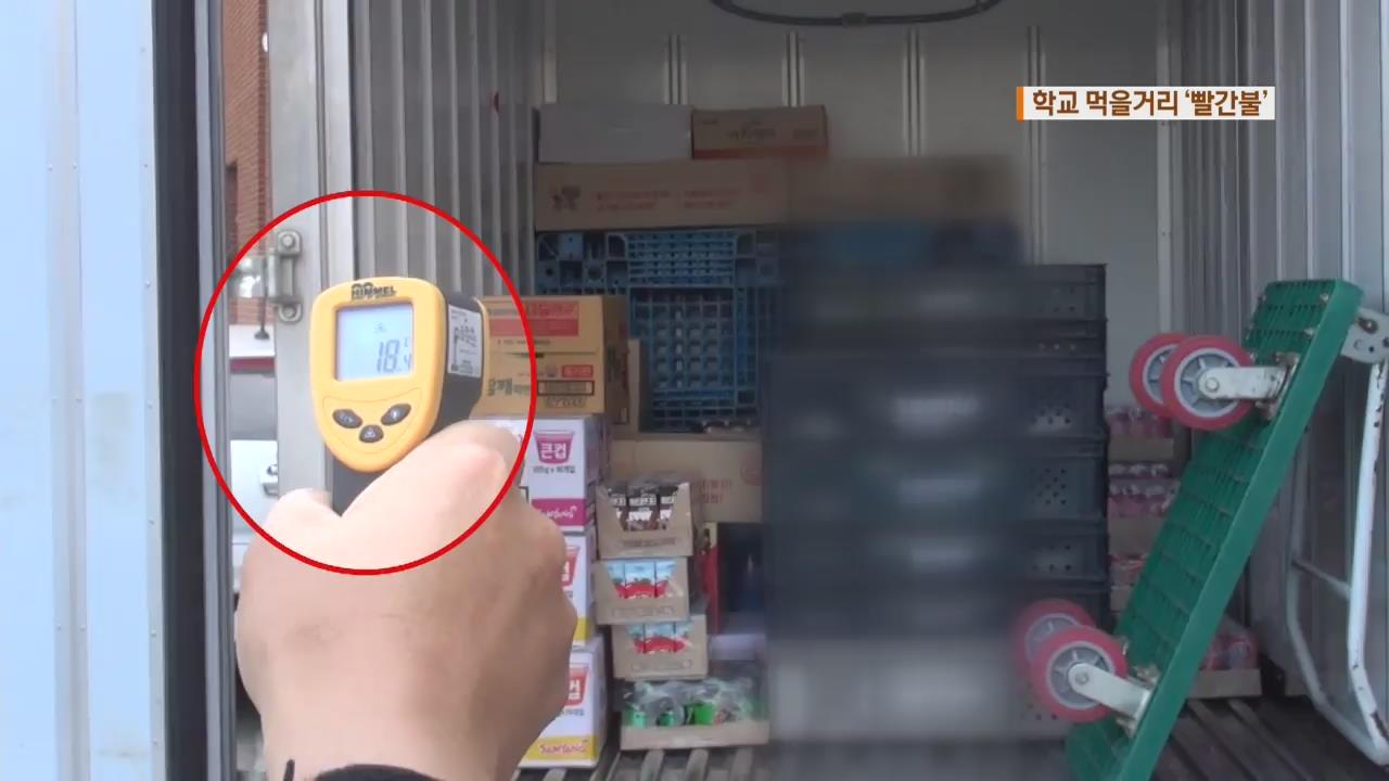학교 매점용 냉장식품 상온 유통…학생 안전 '빨간불'
