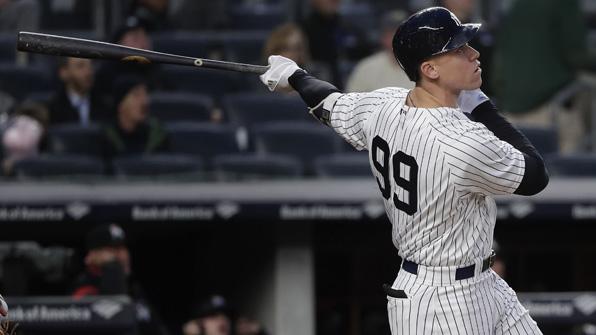 저지, MLB '최소경기 60홈런' 달성…맥과이어 넘었다