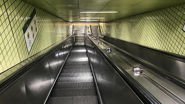 """""""지하철, IoT기술로 에스컬레이터 수리 시간 34% 단축"""""""