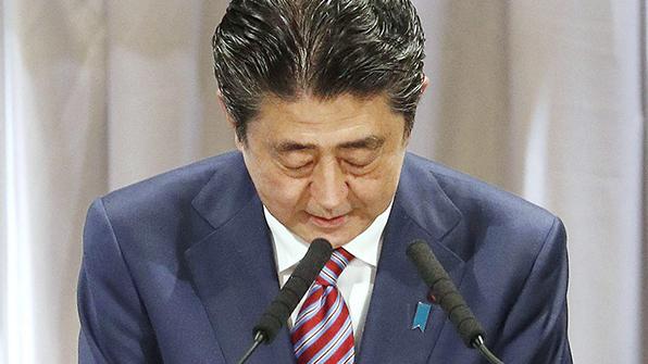 日아베, '방송의 공평성' 조항 폐지하려다 반발 커지자 포기