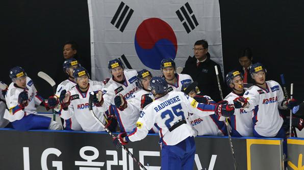 남자 아이스하키 대표팀, 슬로바키아-독일과 평가전