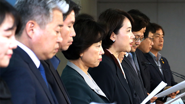 """민주 더좋은미래 """"선관위 '김기식 위법' 판단은 여론몰이"""" 반발"""
