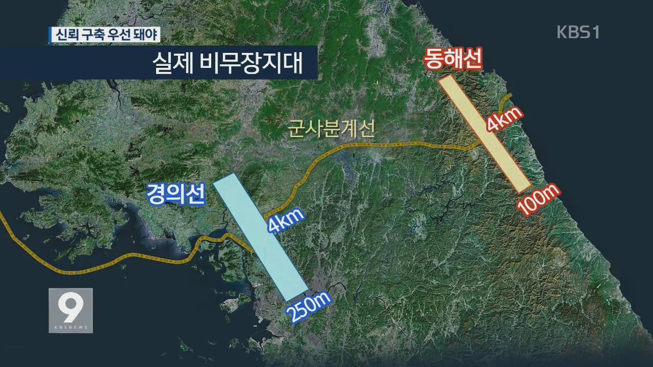 DMZ의 '비무장지대화', 군사적 긴장 완화되나?